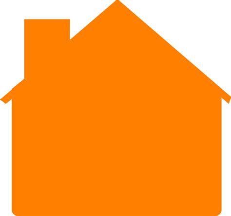 house clipart simple orange house clip art at clker com vector clip art online royalty free