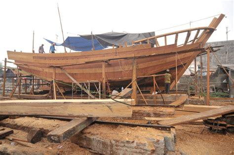 pembuatan kapal terkendala bahan medanbisnisdailycom
