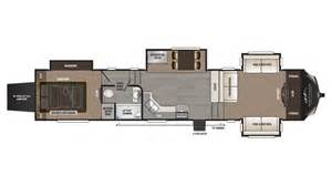 country rv floor plans 2017 keystone montana high country 381th floor plan toy hauler