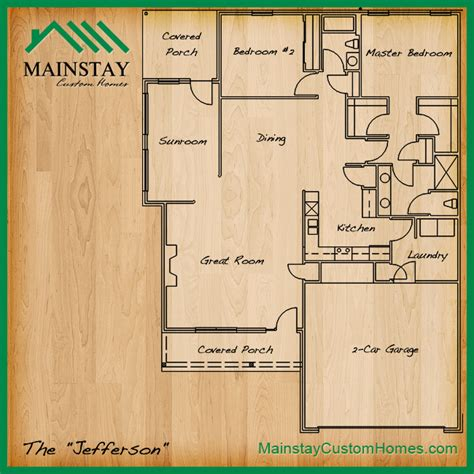 Custom Homes Floor Plans mainstay custom homes 187 floorplans