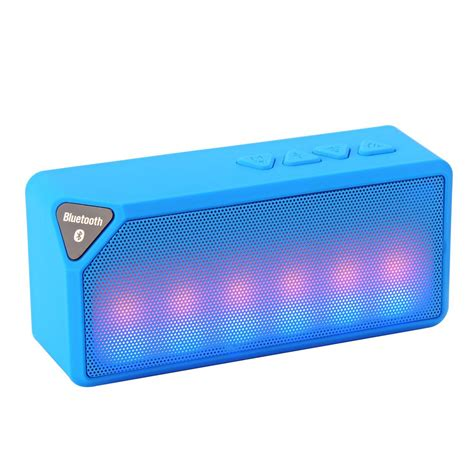 Speaker Bluetooth Icuans ipm icon bluetooth speaker blue ipmiconpl bl the home depot