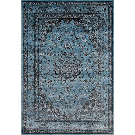 rug base rugs antique styled multi colored blue base area rug 7 10 x 10 6 free shipping today