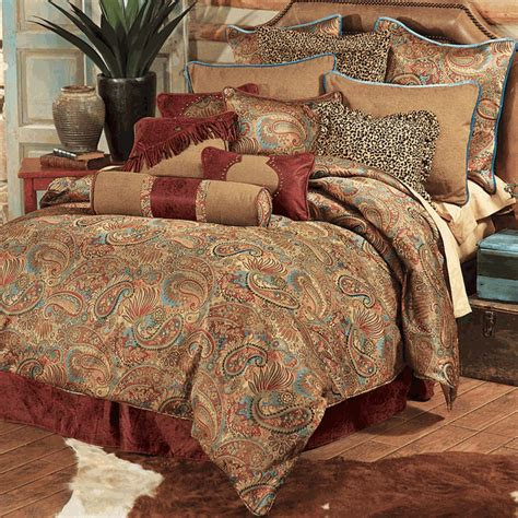 western bedding sets queen western bedding queen size san angelo comforter set lone