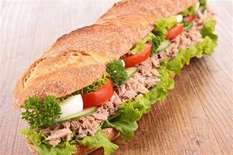 Tuna Blackpepper King Sandwich italian tuna salad sandwich weight watchers kitchme