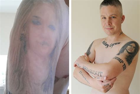 tattoo prices hull man says his 29 miley cyrus tattoos are stopping him