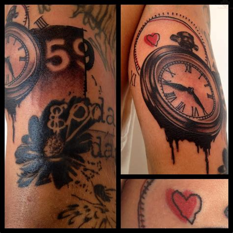 tattoos of clocks clock images designs