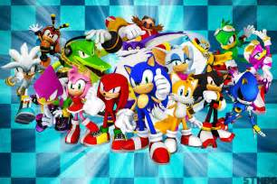 the and friends sonic the hedgehog and friends wallpaper by
