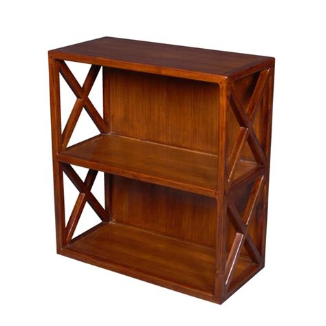shelf cross 2 cases teak home office furniture uae