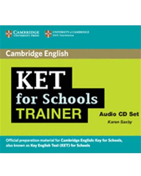 ket for schools trainer audio cds 2 karen saxby comprar libro en fnac es
