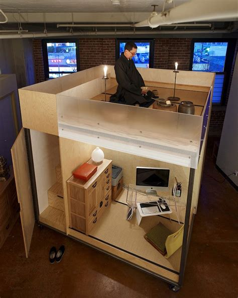 small spaces living spaceflavor architecture small space living in a cube