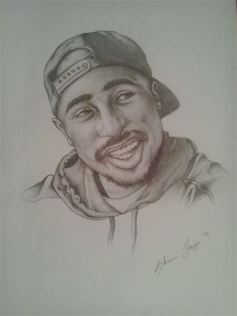 Drawing 2pac by 2pac Drawing By Skicadesign On Deviantart