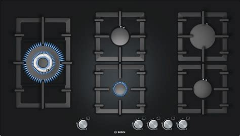 Induction And Gas Cooktop Combination Bosch Pps916b91e Entry If World Design Guide