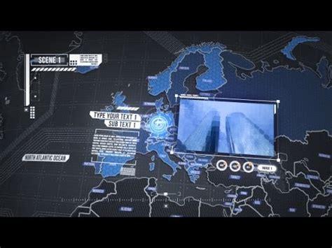 World Map Element 3d After Effects Template Youtube 3d Globe After Effects Template