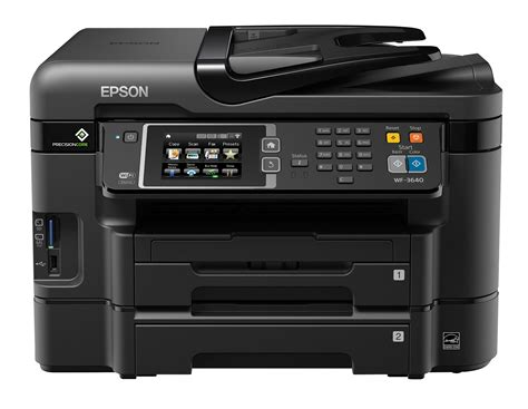 Paper Tray Epson Lx310 New epson workforce printers with precisioncore printheads