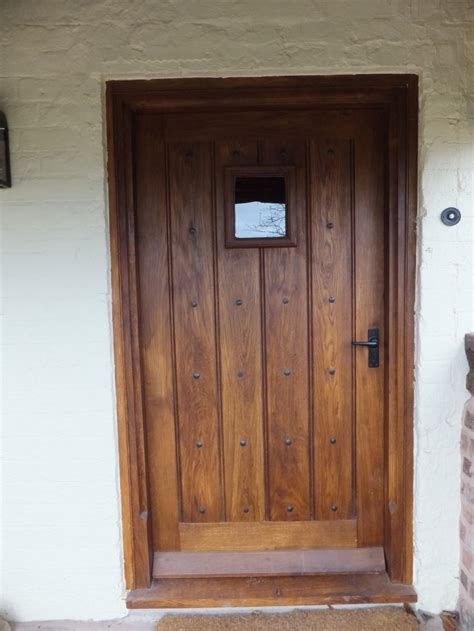 Handmade Oak Doors - oak exterior doors distinctive country furniture limited
