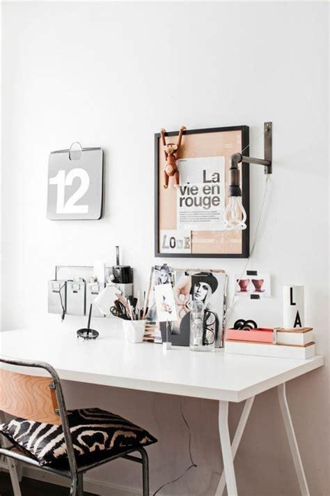 bureau de travail blanc comment d 233 corer un bureau laqu 233 blanc 61 photos