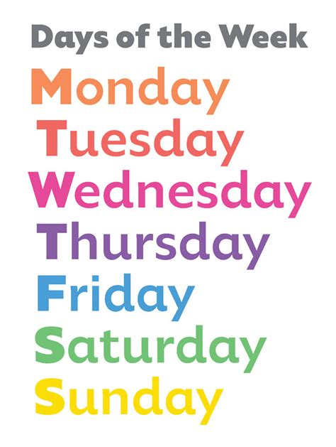 what is the day today of week how to teach with dyslexia the order of the days of