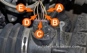 P0110 Vauxhall Parte 2 C 243 Mo Probar El Sensor Maf 2005 2007 3 5l Gm