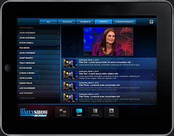 brilliant visions design portfolio of jarrett brilliant the daily show for ipad app jarrett brilliant
