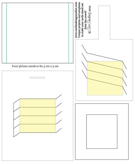picture card templates changing picture card