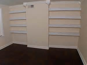 installing bookshelves updating your home install floating shelves hgtv