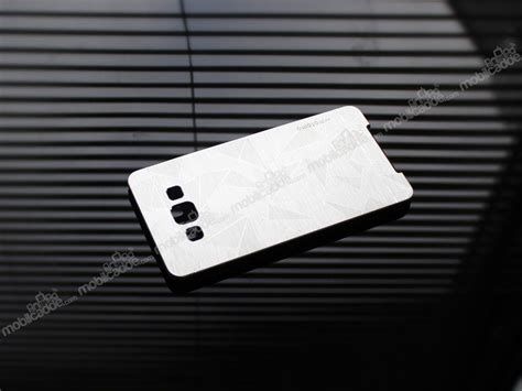 Motomo Samsung A7 Metal motomo prizma samsung galaxy a7 metal silver rubber k箟l箟f