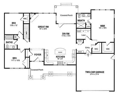operating room floor plans 171 unique house plans craftsman style house plan 3 beds 2 baths 1720 sq ft
