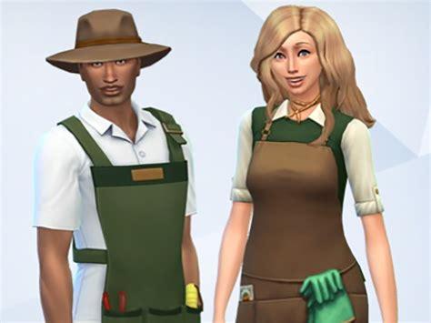 Gardener Costume by Mod The Sims Gardener