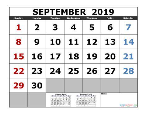 september  printable calendar template  month calendar  printable  calendar