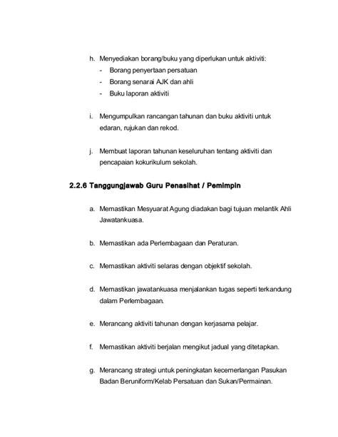 6 senarai tugas gpk kokurikulum