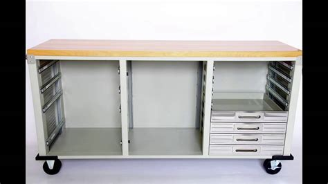 seville classics ultrahd rolling storage with drawers ultrahd rolling workbench from seville classics youtube