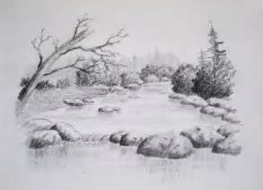 class intro to landscape drawing paint