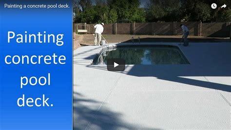 pool deck painting phoenix