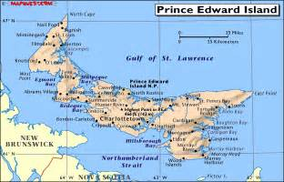 canada provincial map of prince edward island pei