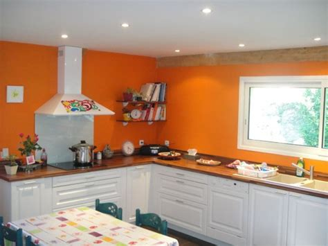 Rénovation Plan De Travail Cuisine 1824 by Peinture Cuisine Orange Bg Concept R 195 169 Novation