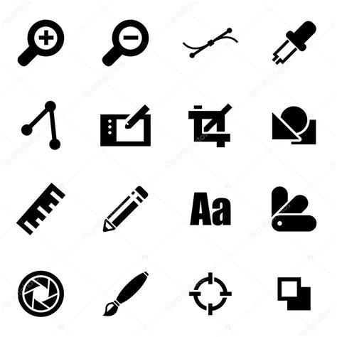 imagenes de los vectores conjunto de iconos de vector negro dise 241 o gr 225 fico