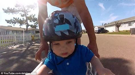 Takes Margarita For A Ride by This Daring Toddler Catch A Ride On A Longboard With