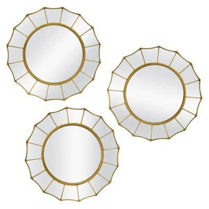 target round mirror threshold round mirror 3 pieces i target