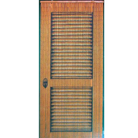 Bamboo Door Curtains Bamboo Beaded Handmade Curtain Window Door Room Divider Multi Door Pattern Ebay