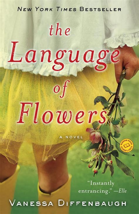 think global garden local the language of flowers by vanessa diffenbaugh