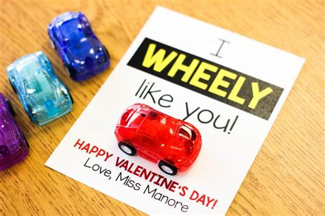 Can I Use A Limited Gift Card At Victoria S Secret - quot i wheely like you quot student valentine freebie