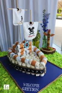 Disney Themed Baby Shower by Pan Themed Baby Shower Like A Rockstar