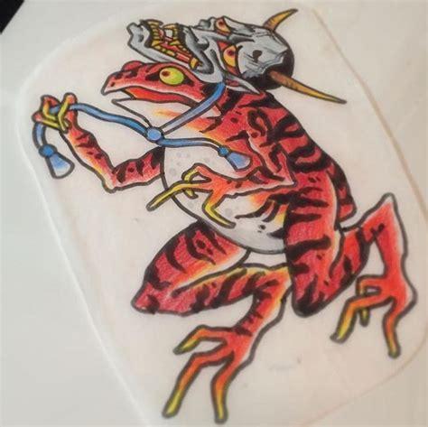 tattoo japanese flash pin by 大雄 183 tattoo on 青蛙 pinterest tattoo japanese and