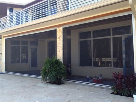 Motorized Retractable Screens For Porches motorized retractable screens