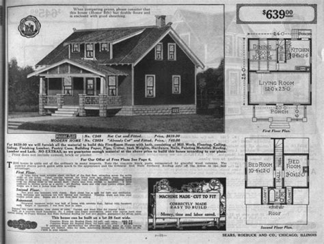 sears catalog homes floor plans bungalow floor plans in the sears catalog 1915 to 1917