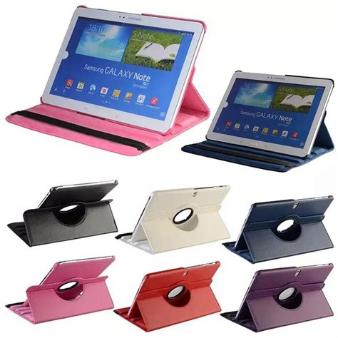 Flip Cover Tab Advan E1c flip pu leather stand 360 degree tablet smart cover for samsung galaxy tab pro 10 1 t520