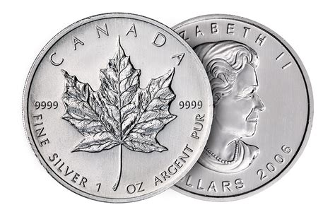 1 Oz Canadian Maple Leaf Silver Coin by Buy 1 Oz Silver Maple Leaf Coins Buy Silver Coins Kitco