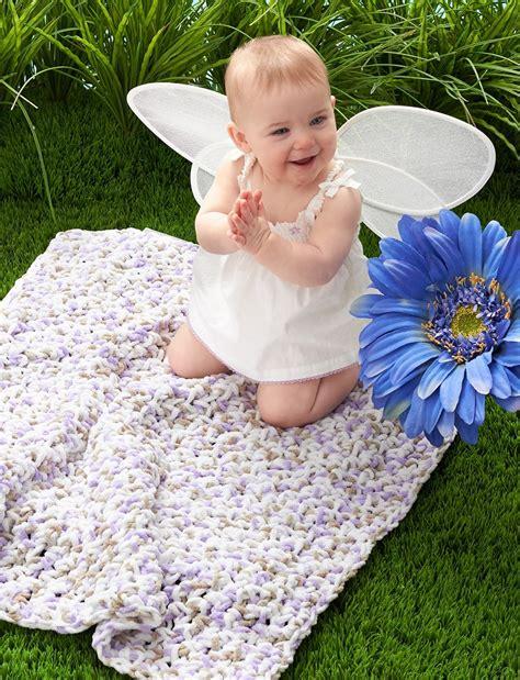 Free Patterns Bernat Baby Blanket Yarn by Easiest Baby Blanket Pattern Allfreecrochet