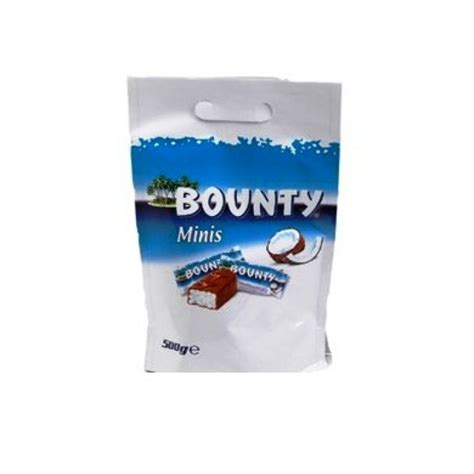 Bounty Minis Chocolate 227gr From bounty minis pouch