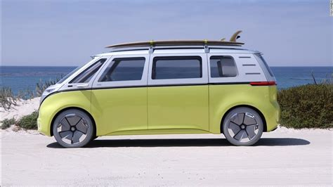 electric volkswagen van volkswagen s electric concept bus is far out man cnn video